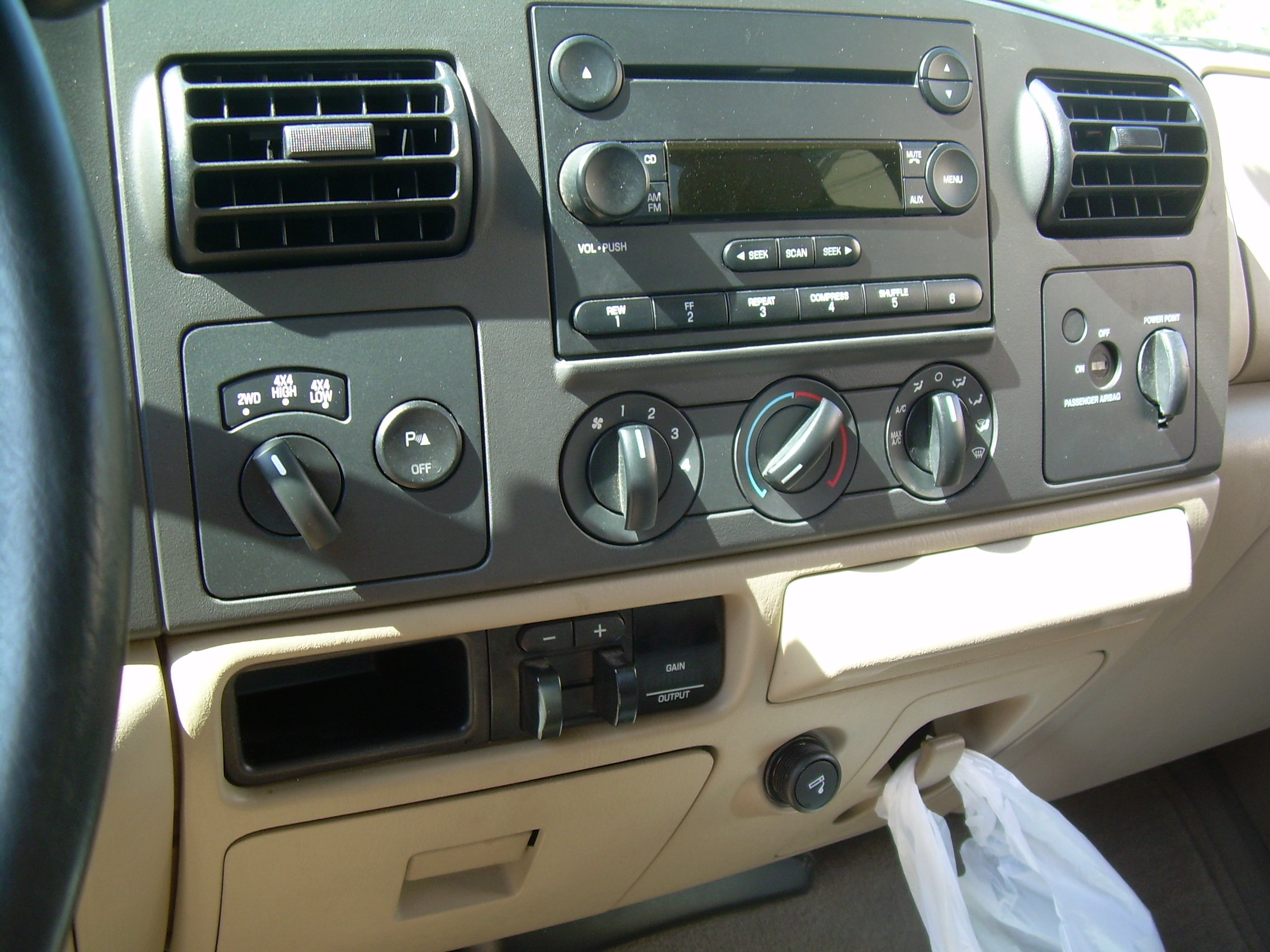 2008 f250 oem in dash upfitter switches