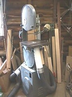 Bandsaw Dustcollection plans