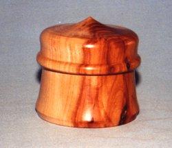 English Walnut Lidded Box