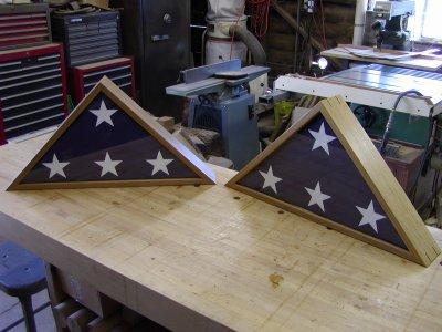 Memorial Flag Cases plans
