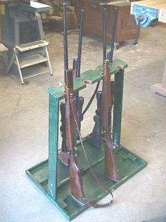 Folding Gun Rack Woodworking Plans And Information At